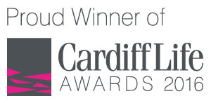 Proud Winner of Cardiff Life Awards 2016
