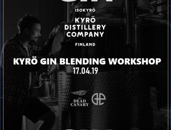 Kyro Gin Blending Workshop - The Dead Canary